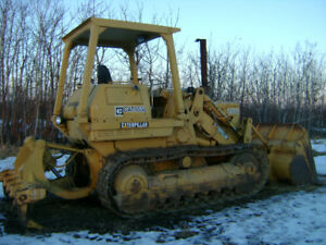 1980 CAT 955L CRAWLER LOADER, C/W CAT MULTI-SHANK RIPPER