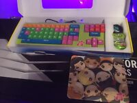 Kiddy Club Keyboard and Optical mouse