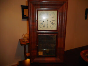 Horloge ''Improved Eight Day BRASS CLOCK E. N. Welch