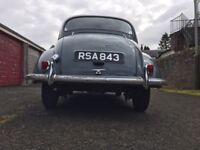 Original Morris Minor 1959 4 door saloon