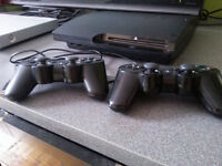 PlayStation 3 160GB Slim - console games - 200$ - 150$ no games