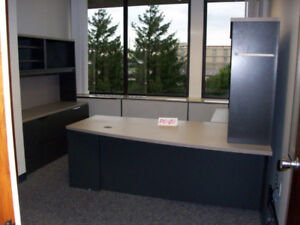 LARGE OFFICE FURNITURE LOT - Herman Miller Systems Furniture