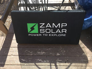 ZAMP 80 Watt Portable Solar Panel System - used only once