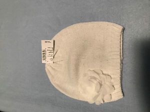 Girls nwt white hat from children's place