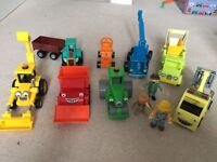 Bundle of Bob the Builder friction toys
