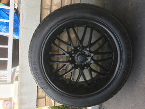 20 inch MSR rims and 275/45/20