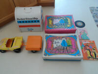 OLD  1970'S  BARBIE  TOYS