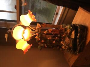 Lampe fontaine  d'eau