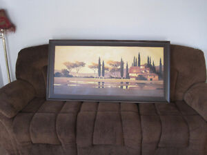 very large canvas in frame / landscape images Kitchener / Waterloo Kitchener Area image 1
