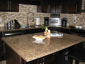GRANITE island TOPS on SALE, $275 plus, ready to go