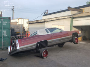 1985 Cadillac Fleetwood Brougham Coupe  **LOWRIDER**