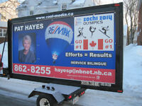 MOBILE BILLBOARDS SERVICES ( 12' X 6' )