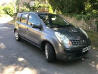 2006 Nissan Note, 1.6, full MOT, FSH, nice and tidy