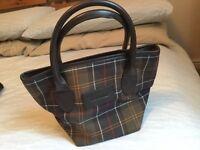 BARBOUR clutch handbag