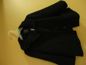 Forever 21 women's black coat jacket Size Small New with tags