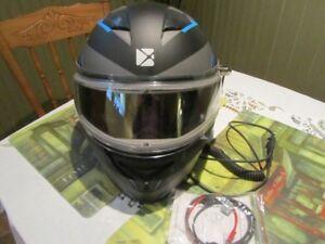 casque de vtt ou moto neige