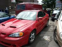2003 Pontiac Grand Am Coupe (2 door)..      2000 Chrysler