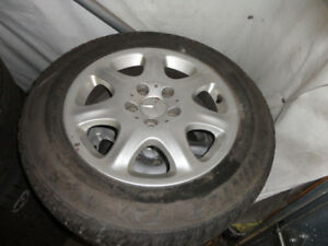 WINTER TIRES.& MAGS FOR MERCEDES 225/60/16''