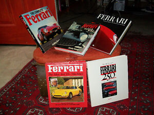 FERRARI FORTY YEARS ON THE ROAD AND OTHERS