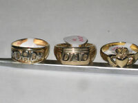 3-10k gold  ring for sale