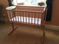 Swinging Crib by Mothercare