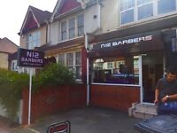 URGENT EXPERIENCED BARBER REQUIRED IN NORTH FINCHLEY
