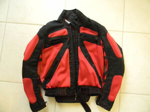 Ladies Rhyno motorcycle jacket, Size mediun REDUCED