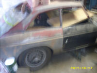 1967 MGB-GT FOR SALE .. In a state of Dissasembly..