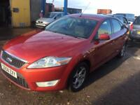 58 2008 Ford Mondeo 2.0TDCi 140 Zetec, SERVICE HISTORY, WARRANTY, SPARE KEY
