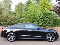 2011 Audi A5 3.0TD ( 242 bhp) 4X4 S Tronic Quattro Black Edition..HIGH SPEC !!
