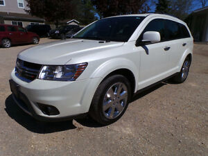 2014 DODGE JOURNEY R/T 7 PASSENGER, AWD, LEATHER, 3.6LV6, 1OWNER