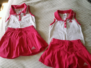 girls 4T and 5T Adidas