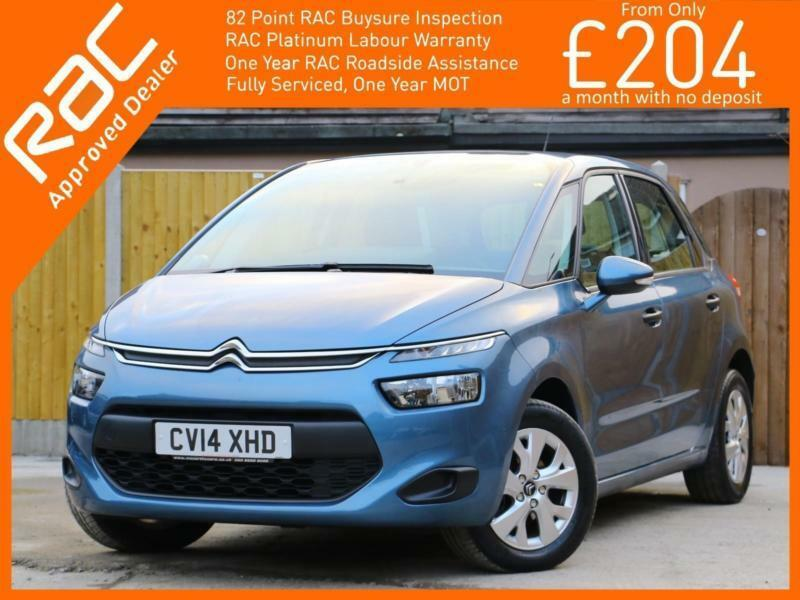 2014 citroen c4 picasso 1 6 hdi turbo diesel vtr 5 speed mpv bluetooth climate c in croydon. Black Bedroom Furniture Sets. Home Design Ideas