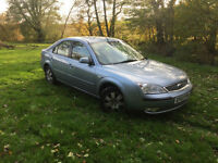 2007 Ford Mondeo Zetec TDCi 115 Manual Blue Cheap P/x