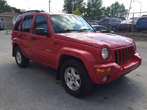 2004 JEEP LIBERTY AUTOMATIC EXCELLENT CONDITION