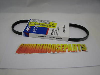 CADILLAC NORTH STAR 4.6 WATER PUMP SERPENTINE BELT 3 RIB NEW GM #  12588412
