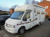 AUTOCRUISE STARSPIRIT, 2 BERTH, LOW PROFILE, U LOUNGE, 2 SINGLE BEDS, LOW MILES