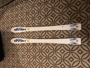 BRAND NEW Head irace jr worldcup 120cm Bindings included