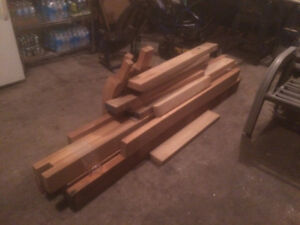 Solid Wood and Mouldings - $5.00 to $100.00