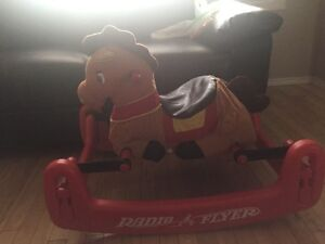 Rocking bouncing horse