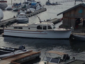 Monk 40ft diesel cruiser OBO