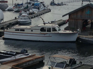 Monk 40ft diesel cruiser for sale or trade