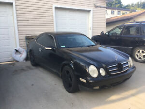 2002 Mercedes-Benz 200-Series Coupe (2 door)