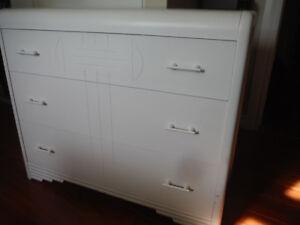 Retro White Dresser