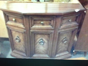 2 console /hall tables $60. each