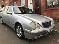 2002 Mercedes-Benz E Class 2.1 E220 CDI Classic Estate 5dr Diesel Manual