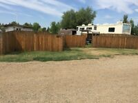 RV lot at Forty Mile Campground