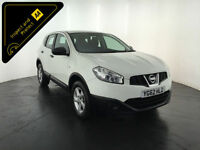2012 62 NISSAN QASHQAI VISIA IS DCI 1 OWNER NISSAN SERVICE HISTORY FINANCE PX