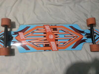 Brand New Sector 9 Wheel Cutout Style Board *Used Once*