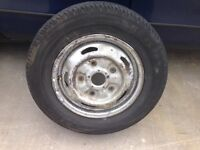 Ford transit tyres and rims